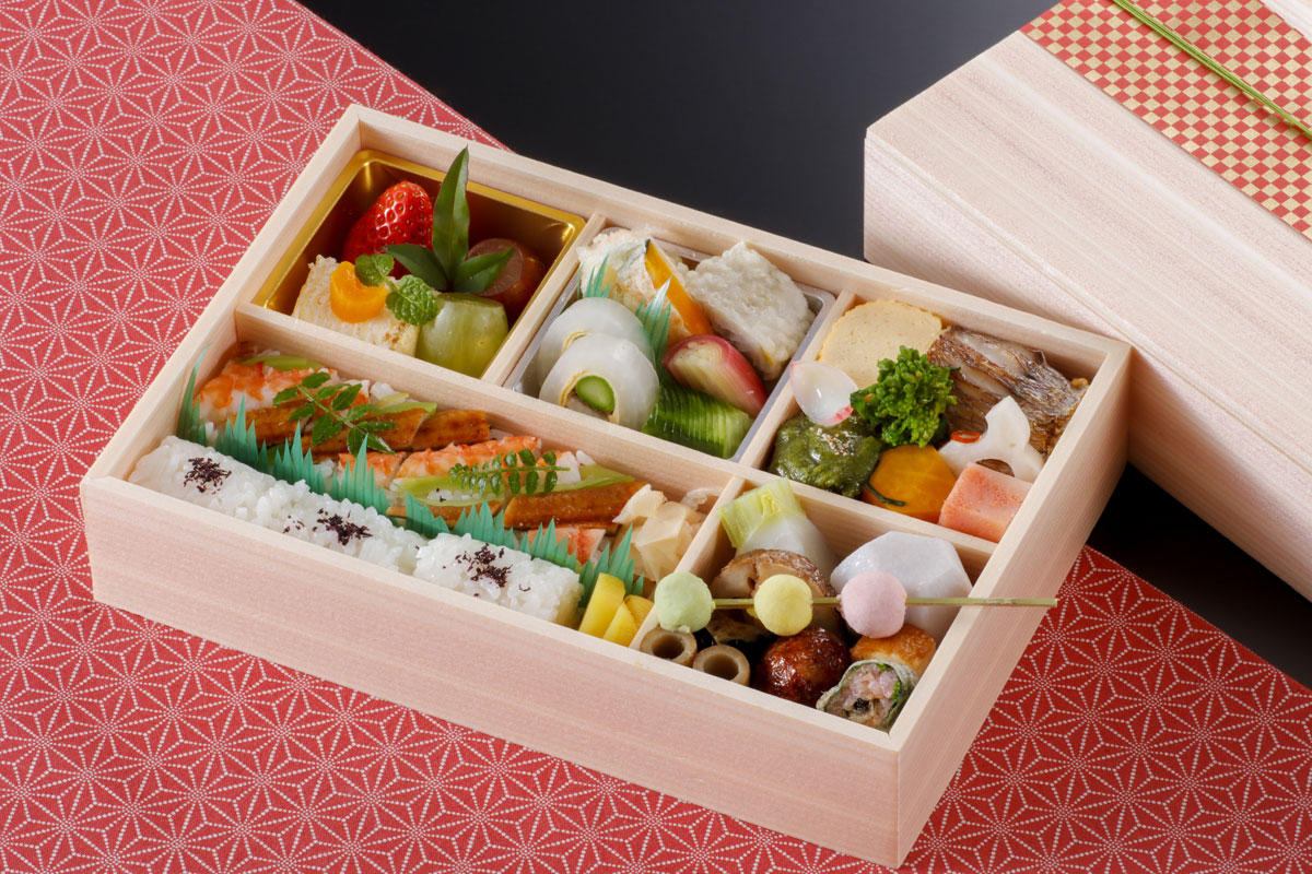仕出し料理「長箱弁当」 -日本料理一ゑん(いちえん) 京都 福知山 -